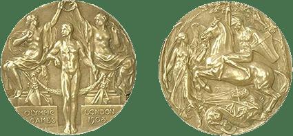 Medalhas dos Jogos Olímpicos de Londres-1908