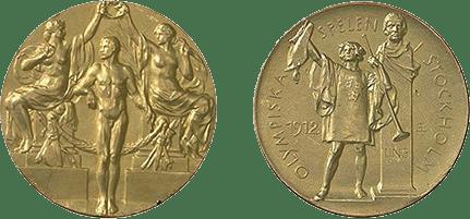 Medalhas dos Jogos Olímpicos de Estocolmo-1912