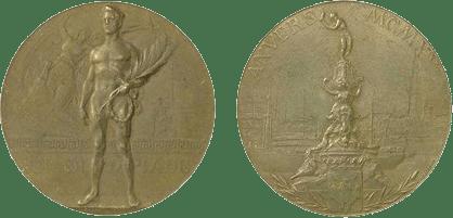 Medalhas dos Jogos Olímpicos de Antuérpia-1920