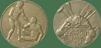 Medalhas dos Jogos Olímpicos de Paris-1924