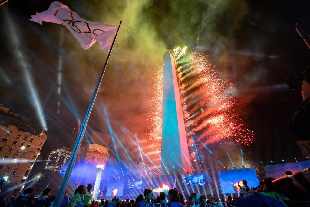 Abertura dos Jogos Olímpicos da Juventude