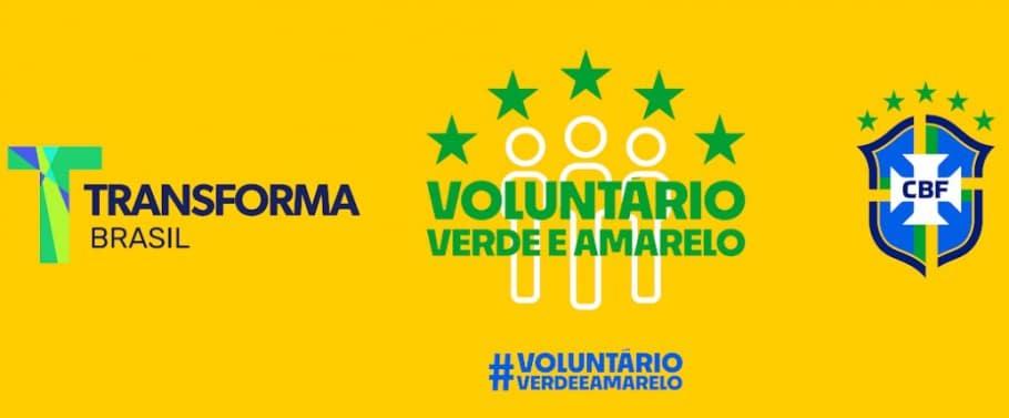 CBF Social - Voluntário Verde e Amarelo - Pandemia de Coronavírus