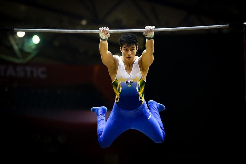 Arthur Nory barra fixa ginástica artística jogos olímpicos tóquio 2020