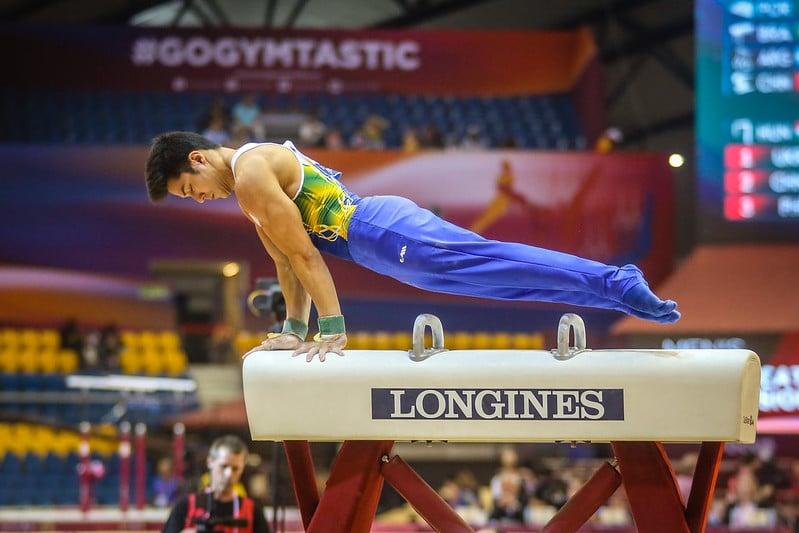 Arthur Nory aproveitou o adiamento dos Jogos Olímpicos de Tóquio para passar por uma cirurgia no ombro e tratar uma lesão que já o incomodava há um ano