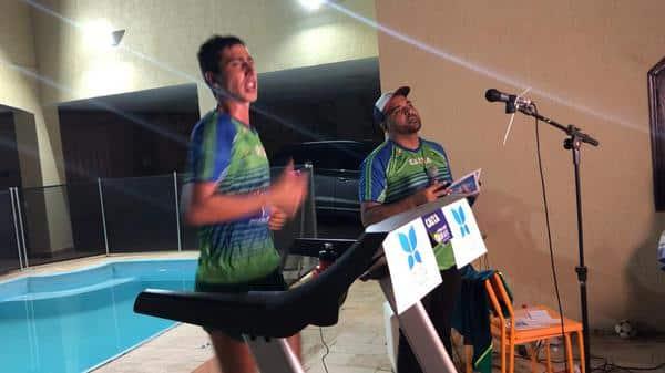 Caio Bonfim, da marcha atlética fez live solidária para ajudar na crise do coronavírus