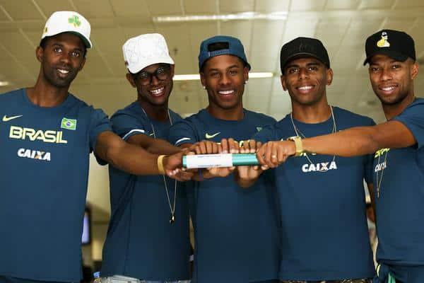 Conquista do título mundial do revezamento 4x100 m masculino do Brasil completa um ano