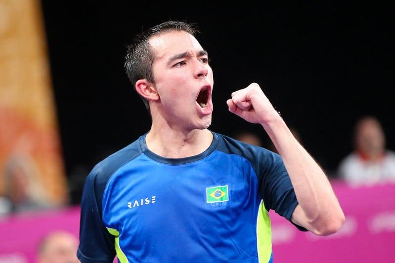 Treinando normalmente, Hugo Calderano falou sobre a expectativa para os Jogos Olímpicos de Tóquio, retorno da liga na Alemanha e a desenvoltura para vários esportes, além do tênis de mesa