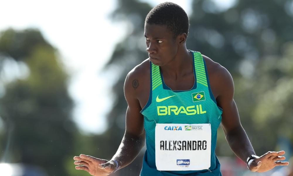 Alexsandro Melo Bolt Atletismo Medalha Olímpica salto triplo Jogos Olímpicos de Tóquio 2020