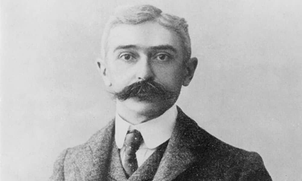 Barão de Coubertin criador dos Jogos Olímpicos (Foto- Creative Commons) ele foi o responsável por introduzir o lema olímpico