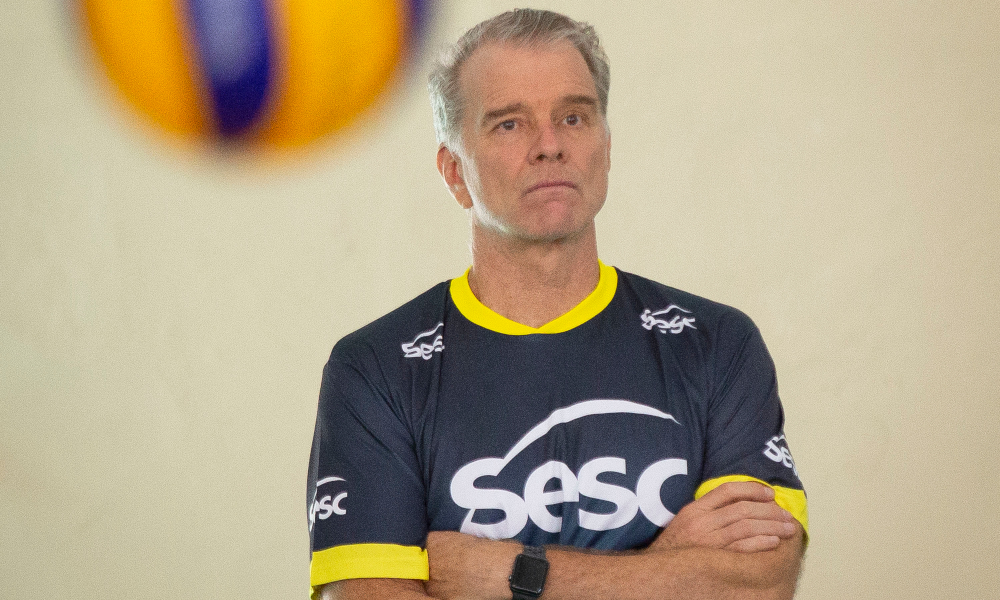 Bernardinho Sesc-RJ Vôlei