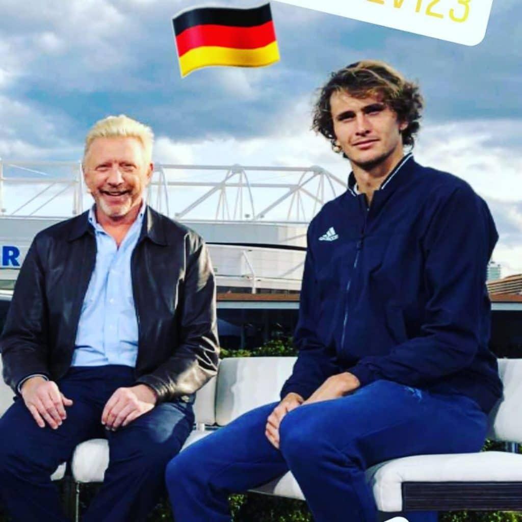 Vencedor de nove grand slams, o ex-jogador Boris Becker crê que a pandemia do coronavírus ajudará a nova geração do tênis a depontar sobre o Big Three Sverev Dominic Thiem