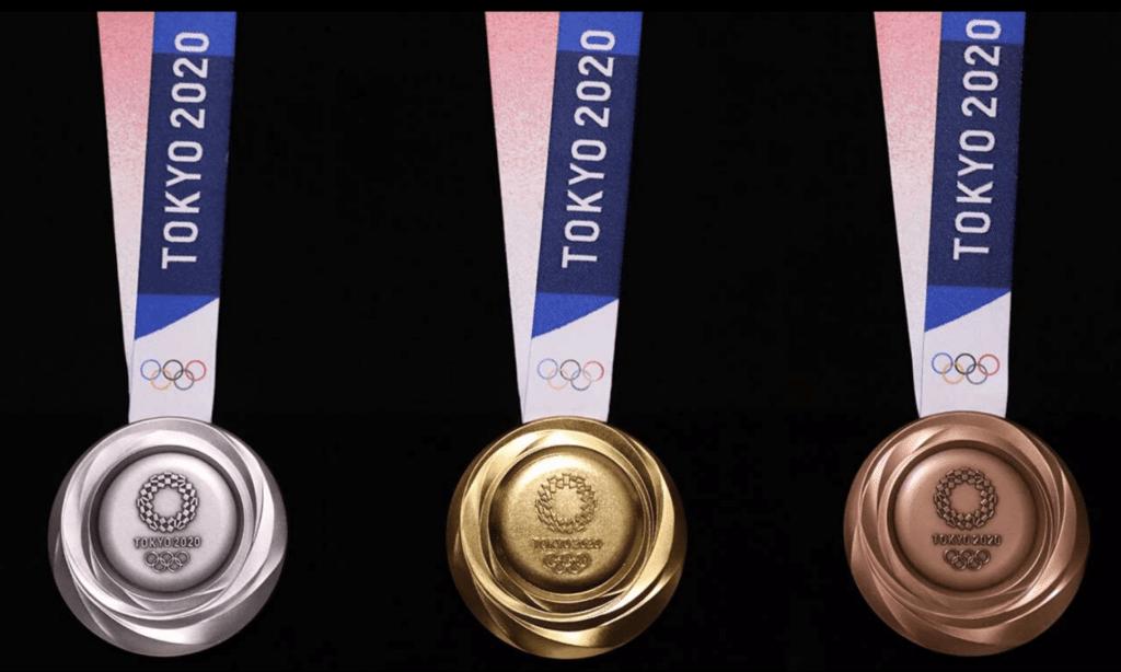 quadro de Medalhas dos jogos olímpicos de Tóquio 2020