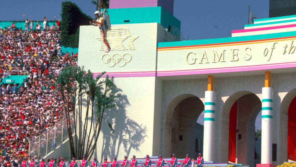 momentos inesquecíveis das cerimônias de abertura dos jogos olímpicos 1984