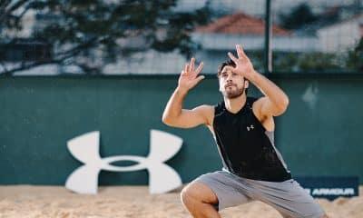 Bruno Schmidt - Vôlei de praia - quarentena - coronavírus - olimpíadas