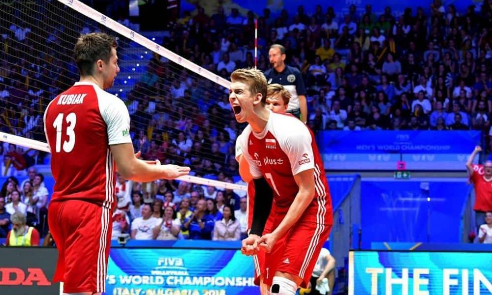 Seleção polonesa de vôlei volta a treinar