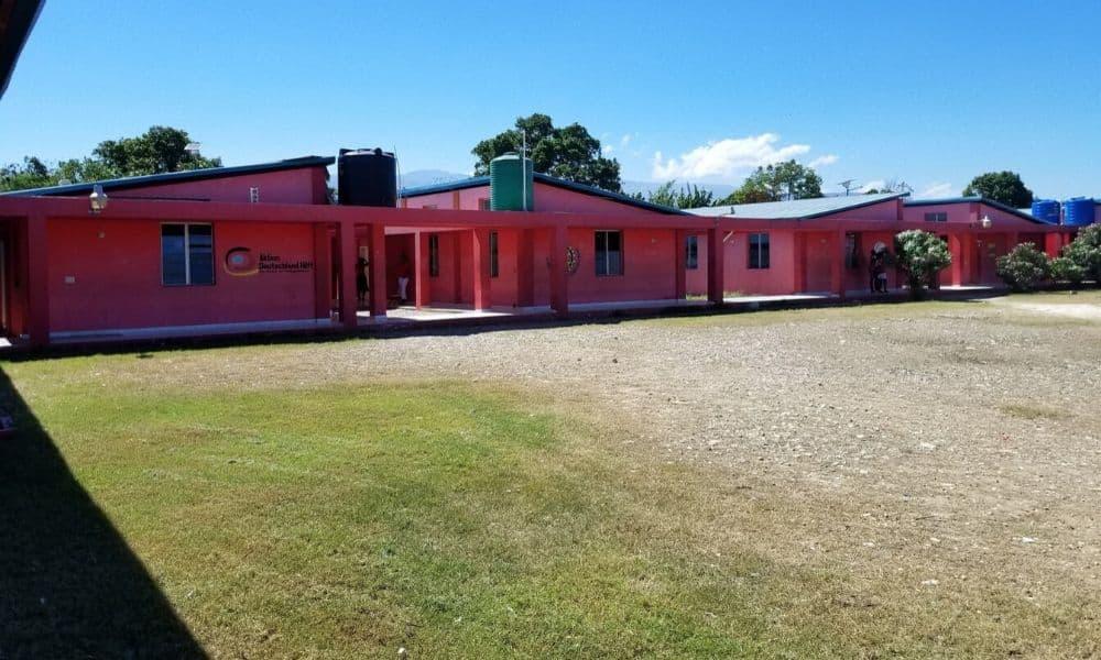 Centro de Treinamento Nacional da Federação Haitiana de Futebol, comanda por Yves Jean-Bart, acusado de abuso sexual (Twitter/cxdesbouquets)