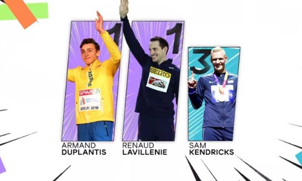 Ultima Garden Clash salto com vara coroa Duplantis e Lavillenie, Kendricks fica em terceiro