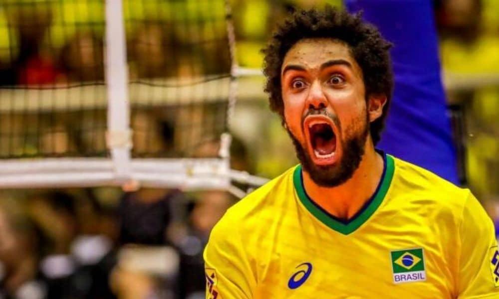 Fernando Cachopa - seleção brasileira de vôlei masculino - Jogos Olímpicos de Tóquio 2020