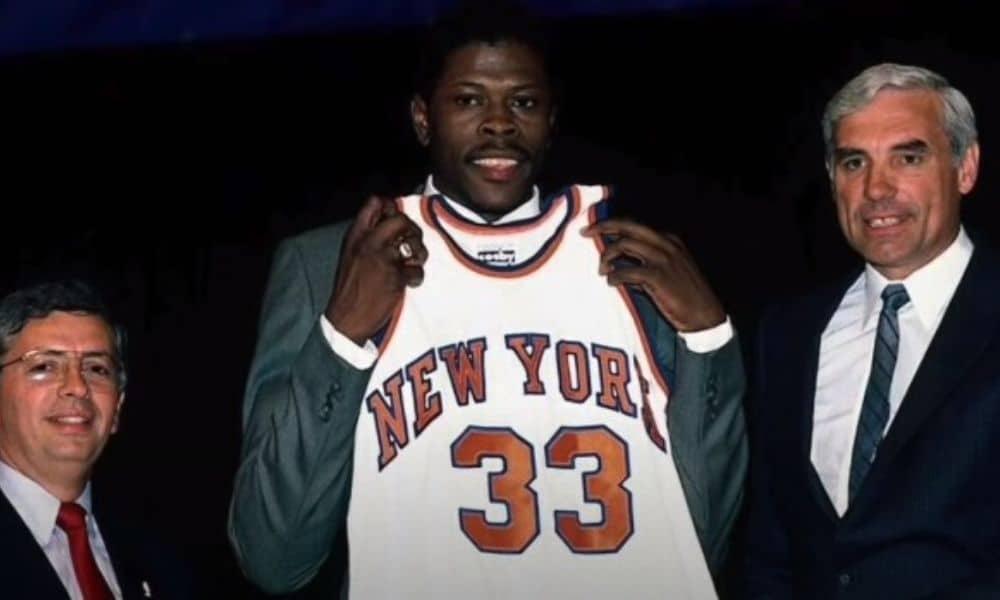Patrick Ewing, do Dream Team, teve suas medalhas de ouro roubadas