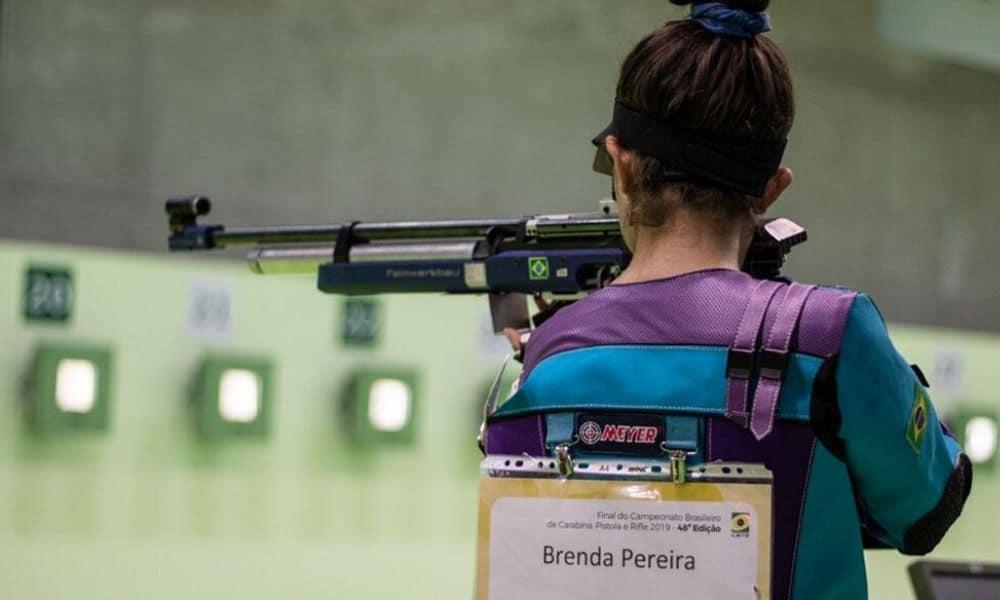 Seleção brasileira de tiro esportivo dá um jeito de seguir ativo durante a pandemia