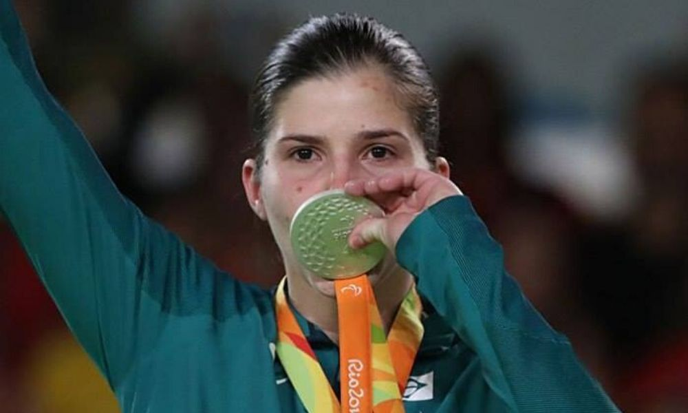 Alana Maldonado, prata no judô paralímpico da Rio 2016 judô