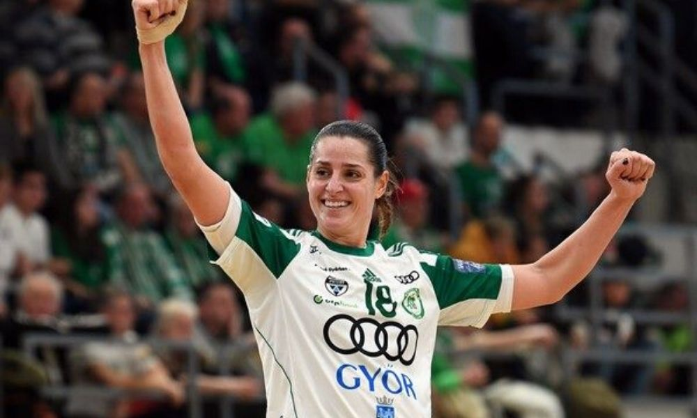 Duda Amorim, Gyori, Hungria, na briga para entrar no time All-Star Champions League da Europa
