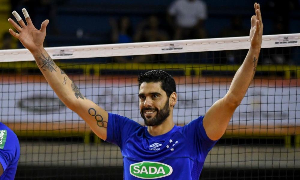 Evandro Campeão Olímpico Sada Cruzeiro 16 títulos