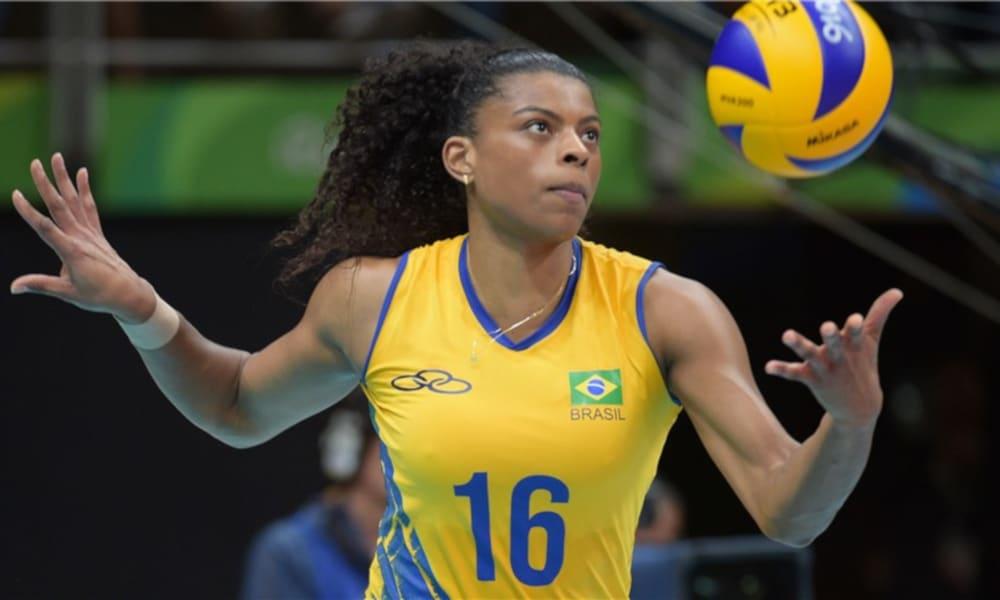 Fernanda Garay - seleção brasileira de vôlei feminino - Jogos Olímpicos de Tóquio 2020