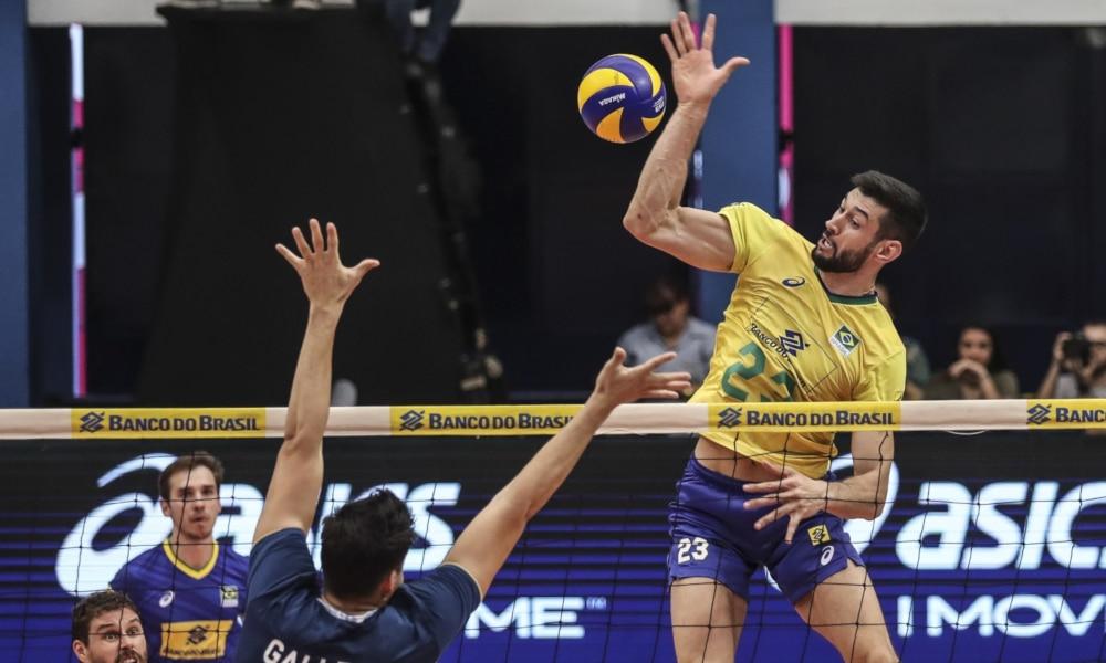 Flávio Atleta Vôlei Polonês Seleção Brasileira Wallace na Turquia