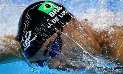 João de Lucca Natação Nadador Tóquio