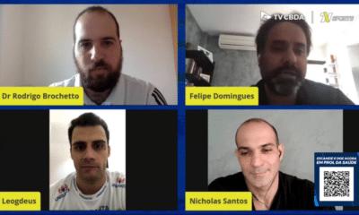 Nicholas Santos Léo de Deus Piscina Temperatura Natação