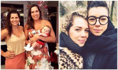Larissa e Babi - maternidade - mãe - sonho - homossexual