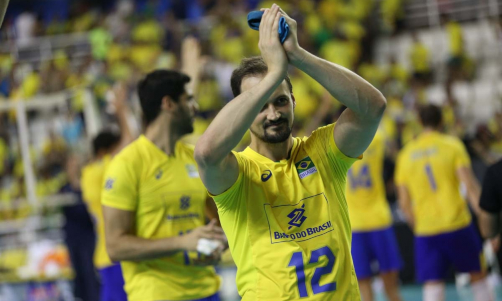Lipe Flávio Atleta Vôlei Polonês Seleção Brasileira