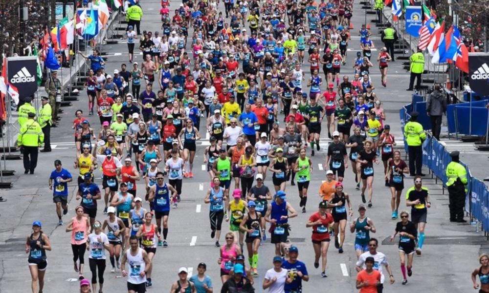 Maratona Boston Coronavírus