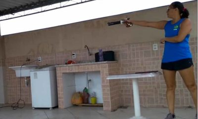 Brasileiros Pentatlo Moderno Laser-run