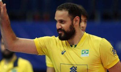 Maurício Borges - seleção brasileira de vôlei - Olimpíada de Tóquio 2020