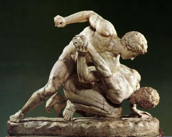 modalidades dos jogos olímpicos da grécia antiga - pancrácio
