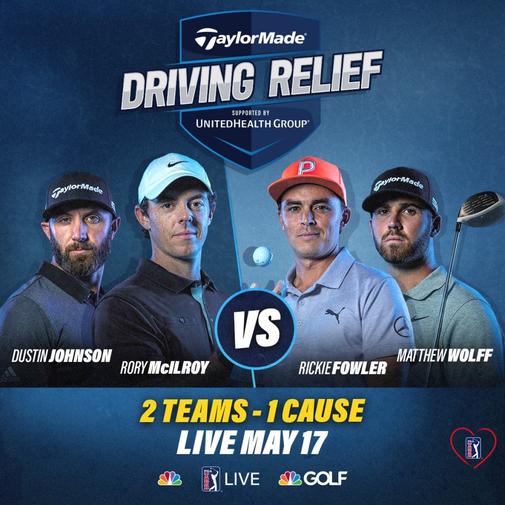 Após tecer criticas ao presidente americano Donald Trump, o golfista Rory McIlroy venceu um torneio que marcou o retorno do golfe ao vivo na TV americana coronavírus