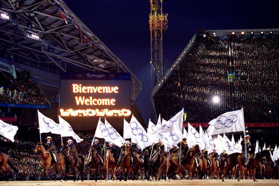 momentos inesquecíveis das cerimônias de abertura dos jogos olímpicos 2000