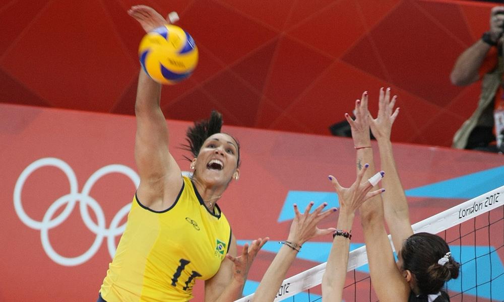 Tandara Caixeta - oposta - seleção brasileira de vôlei feminino - Jogos Olímpicos de Tóquio 2020 Londres 2012