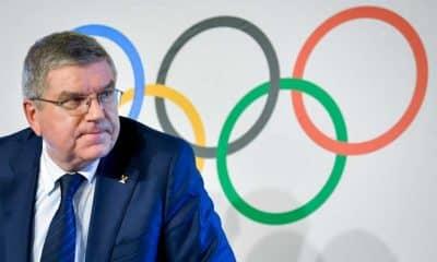 Thomas Bach, presidente do COI, preferiu despistar quando perguntado se a realização dos Jogos dependem da descoberta de uma vacina contra o coronavírus.