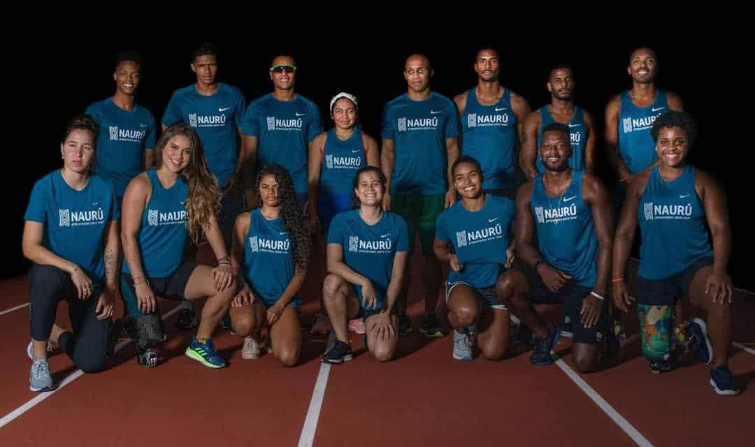 Time Naurú conta com 15 atletas paralímpicos e 5 guias (Instagram/TimeNauru)
