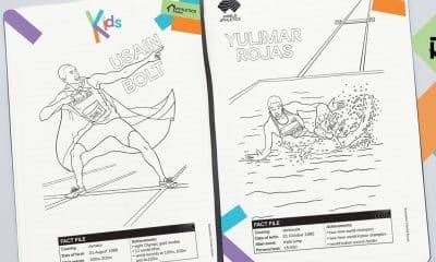 Confederação Brasileira de Judô, CBGolfe, World Athletics e Federação Internacional de Remo disponibilizaram desenhos