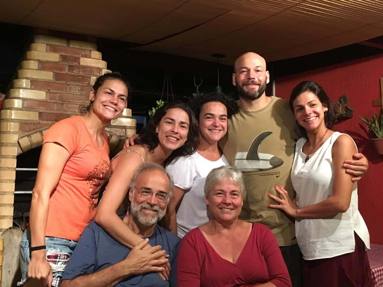 Baby Futuro e sua mãe e família