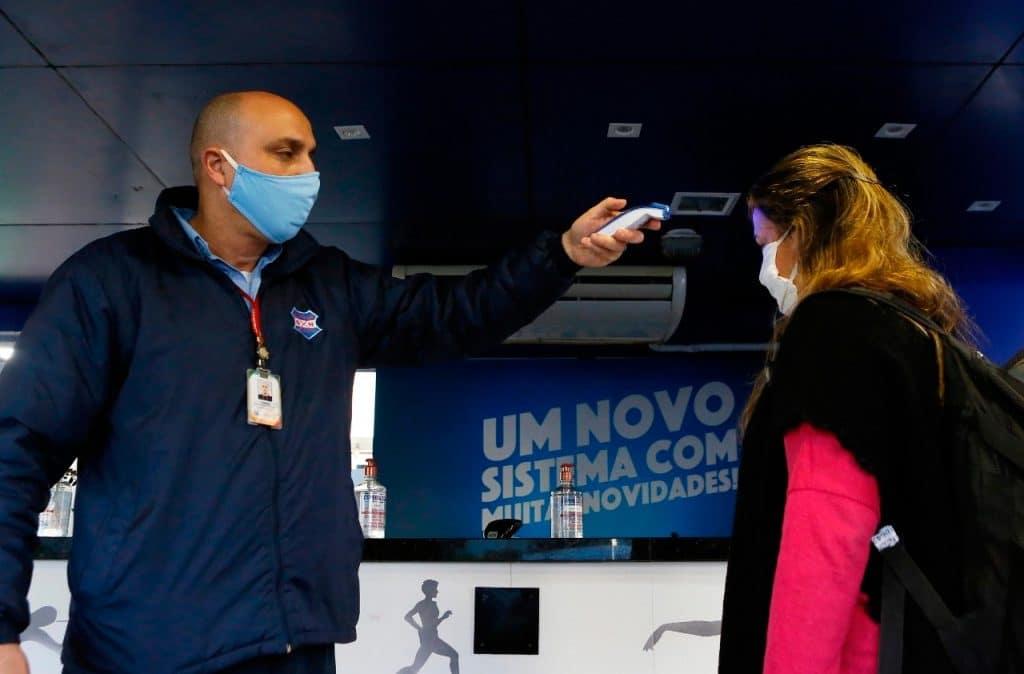 Grêmio Náutico União - Coronavírus - treinos
