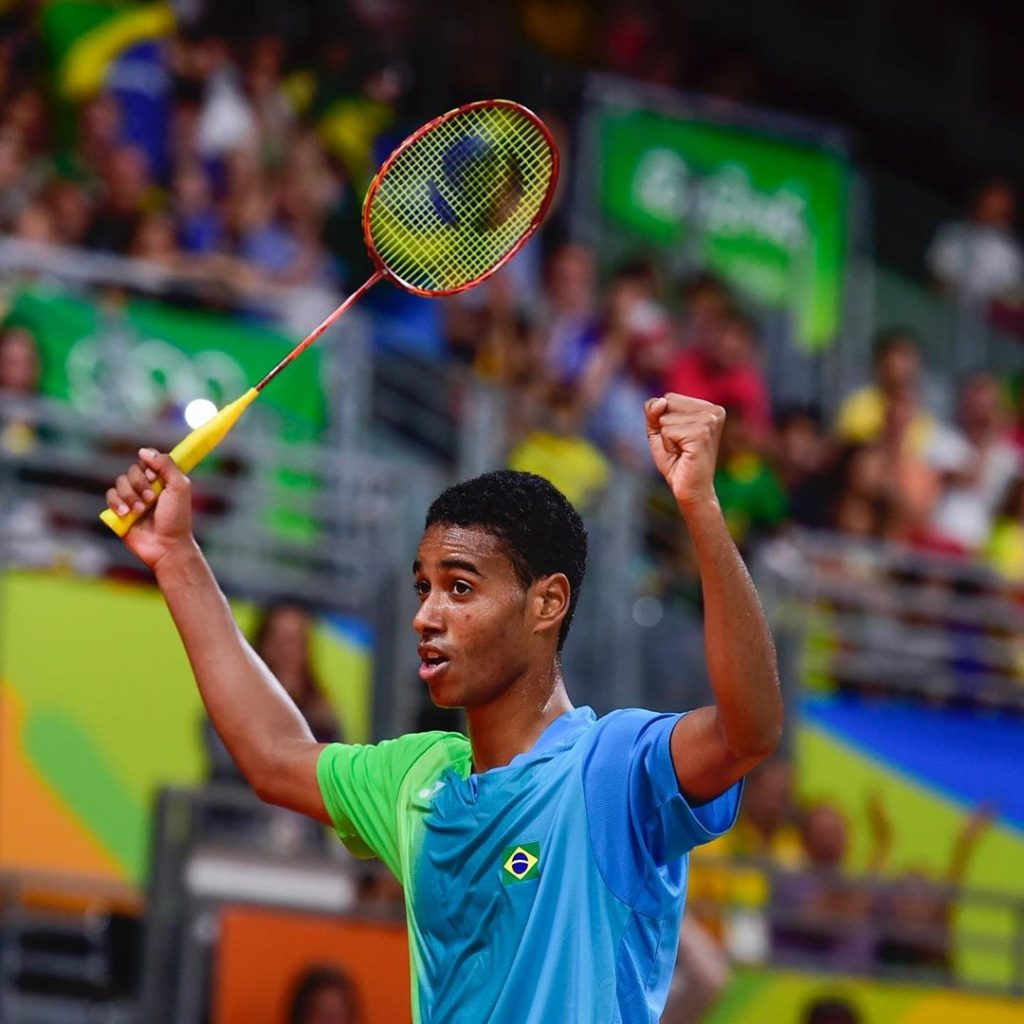 Ygor Coelho, do badminton, fez três cursos online durante a quarentena