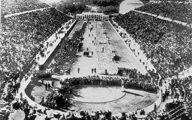 O sonho de Barão de Coubertin, criador dos Jogos Olímpicos, se realizou em Atenas-1896