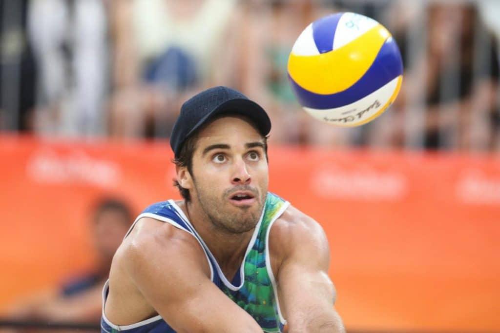 Bruno Schmidt vôlei de praia masculino Evandro Bruno e Evandro Jogos Olímpicos de Tóquio 2020