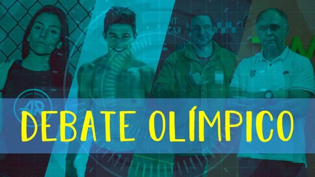 Debate Olímpico live - edição 5 contou com Caio Senise