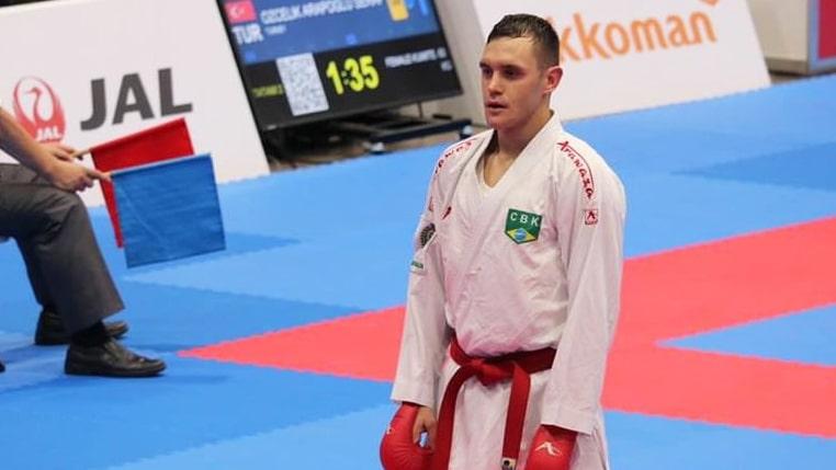 Vinícius Figueira - Douglas Brose - Caratê - classificação olímpica - Tóquio 2020